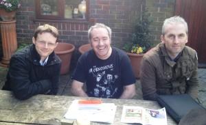 L-R: Neil Laurenson, Dwane Reads, Antony Owen